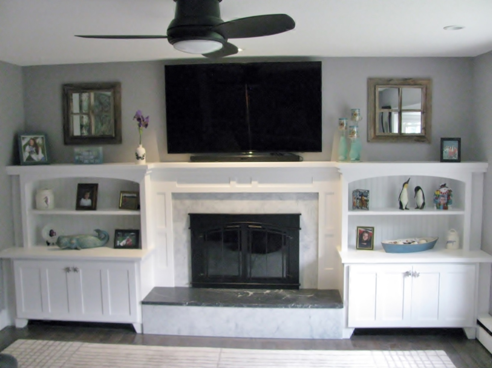 Built In Cabinetry And Fireplace Mantle Creative Wood